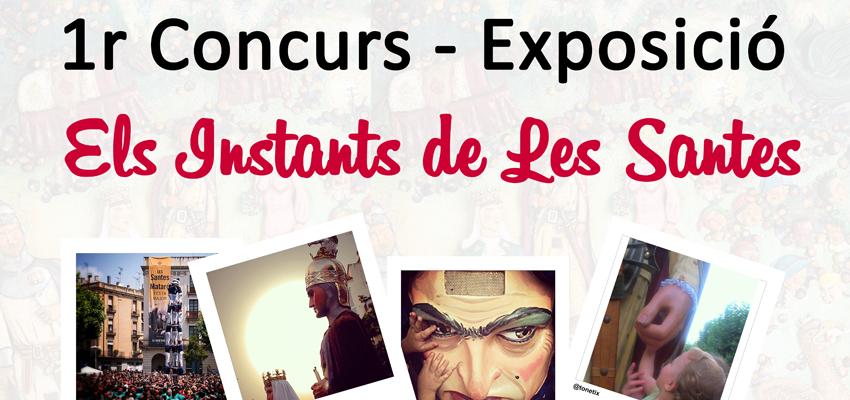 """Cartel """"Els Instants de les Santes"""", una exposición de Instagram de Tot Marc"""