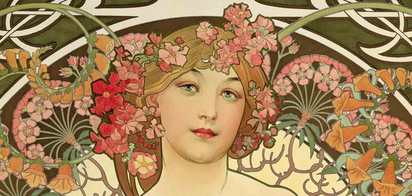 Alfons Mucha - Art Nouveau