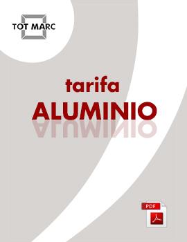 Tarifas Aluminio