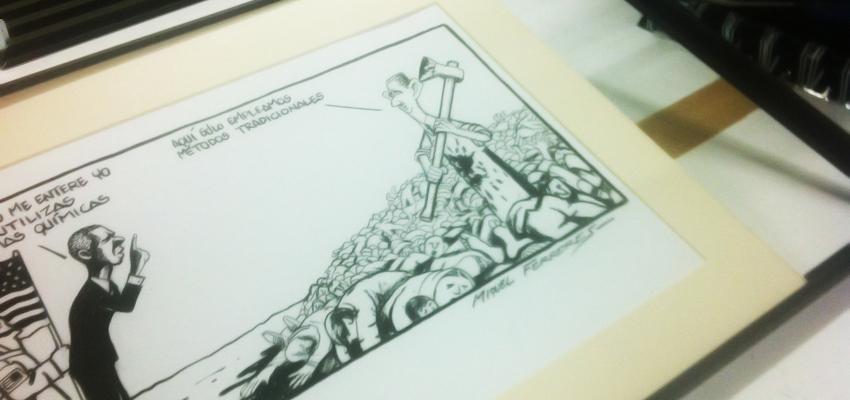Exposición Humoristas gráficos por la Libertad de Información - Tot Marc