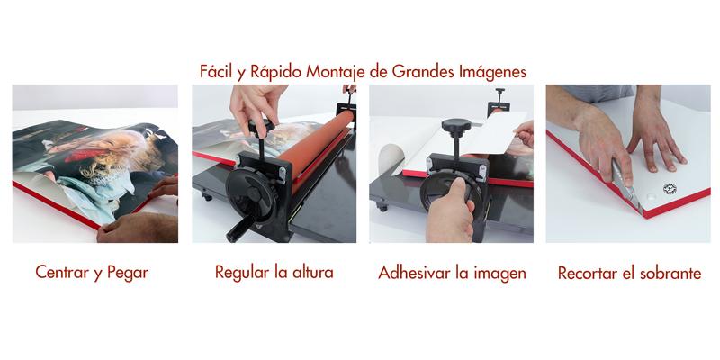 Adhesivadora para montajes de RigidPan® de 19mm y 10mm