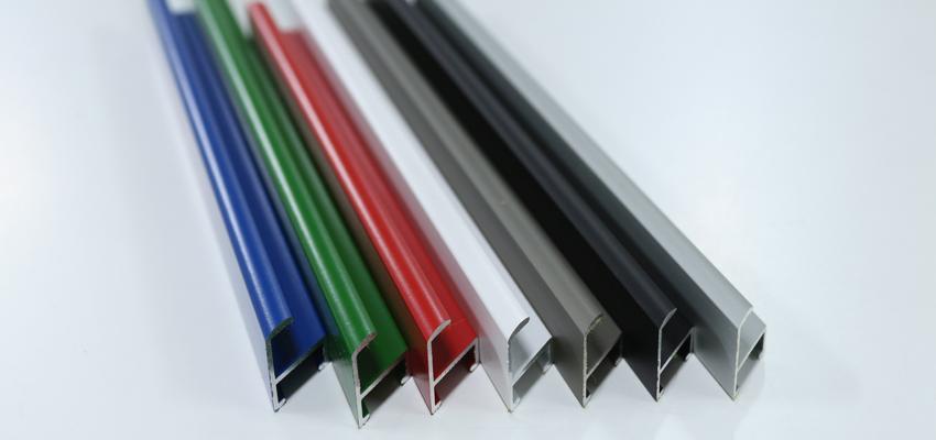 Corte de moldura de aluminio: Moldura de aluminio TM2