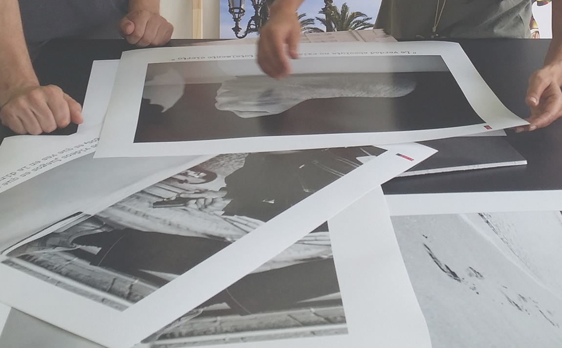 asesoramiento en marcos para exposiciones y Enmarcar una exposición   Tot Marc