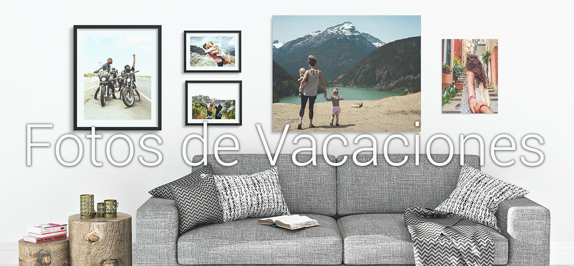 como Enmarcar Fotos de vacaciones en marcos a medida